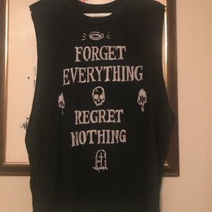 UNIF - Forget Everything Regret Nothing Muscle Tee